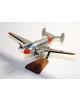 Maquette avion du Dassault MD.312 Flamant F.A.F en bois
