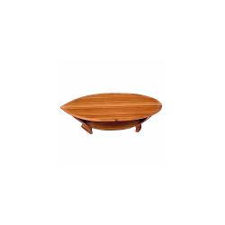 Table basse Coque de bateau en bois noble
