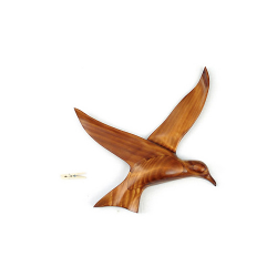 Le vol de la sterne en bois noble 60 cm