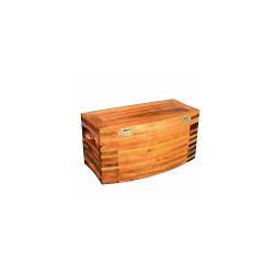 Coffre de mer en bois noble
