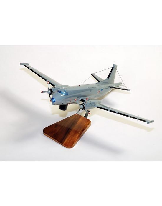 Maquette avion de l'Atlantic 2 Breguet French Navy en bois