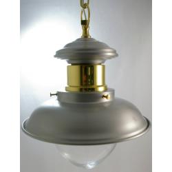 Luminaire marin laiton - Suspension Inox -