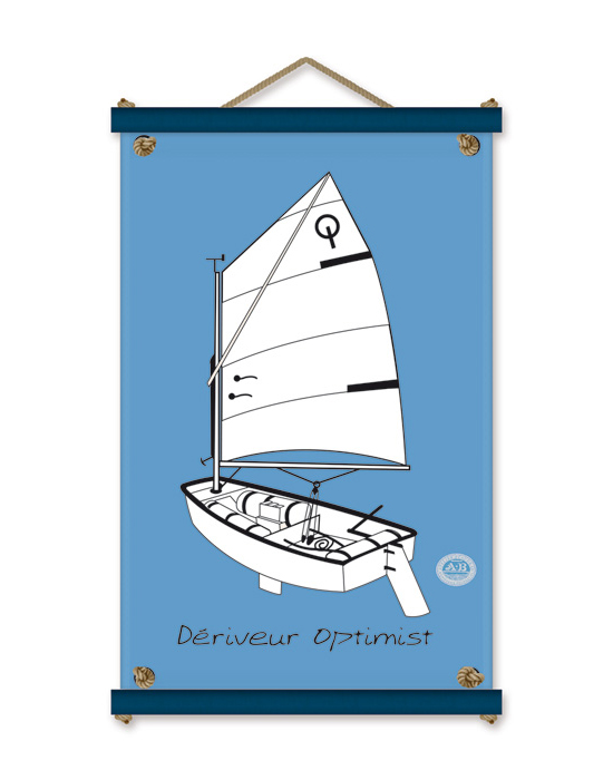 L'Optimist - blanc -