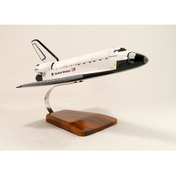 Maquette Endeavour Space Shuttle en bois