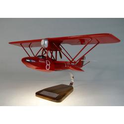 Maquette avion Savoia Marchetti S51 en bois