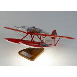 Maquette avion Savoia-Marchetti S65 en bois