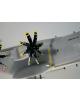 Maquette avion Airbus A400M en bois