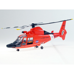 maquette AW109 Coast Guard helicoptere