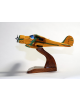 Maquette avion en bois du Beech Aircraft 17 Staggerwing Civil