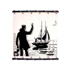 Toile Corto Maltese de Hugo Pratt - Bon vent -