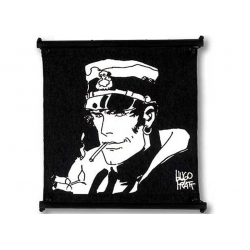 Toile Corto Maltese de Hugo Pratt - Smoking -
