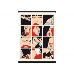 Toile Corto Maltese de Hugo Pratt - Tango -