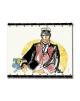 Corto Maltese de Hugo Pratt - Aquarelle -