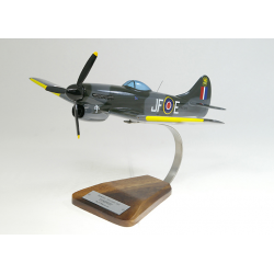 Maquette avion Hawker Tempest MkV Clostermann en bois