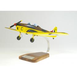 Maquette avion Miles 14A Magister en bois