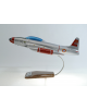 Maquette avion Lockheed T 33 T Bird en bois