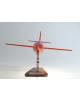 Maquette avion Bell X1 en bois