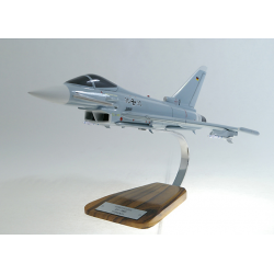 Maquette avion EuroFighter EF 2000 Typhoon en bois