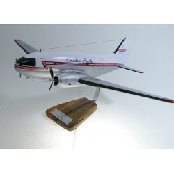 Maquette avion Curtiss C 46 Commando en bois