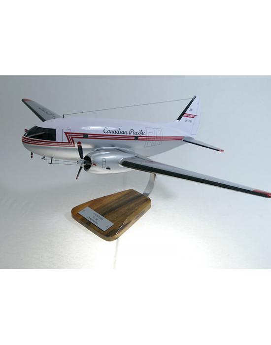 Maquette avion Curtiss C 46 Commando en bois