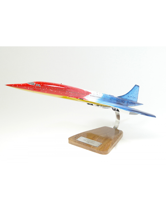 Maquette avion Concorde 20st Anniversary en bois
