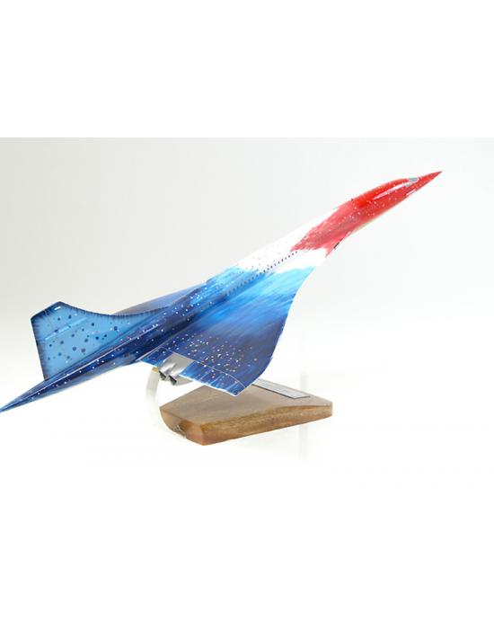 Maquette avion Concorde 20st Anniversary en bois  Merespace