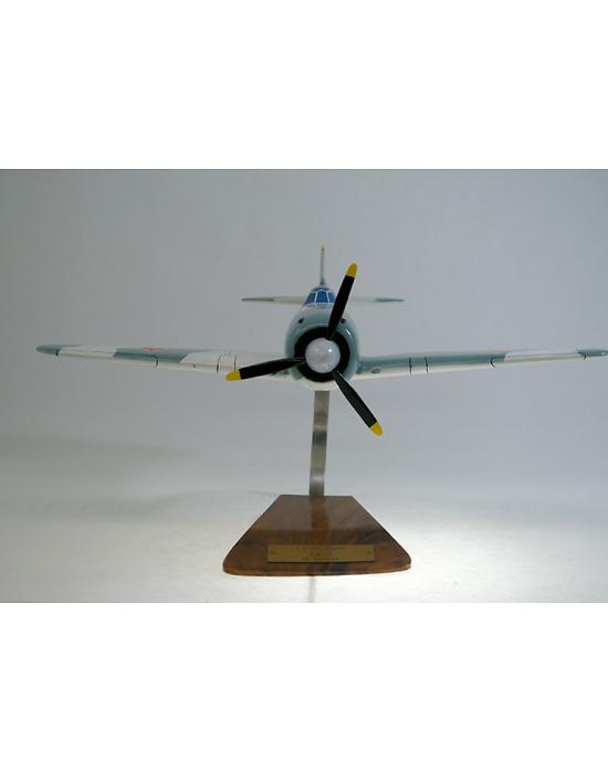 Maquette avion Lavochkin La 5 en bois  Merespace
