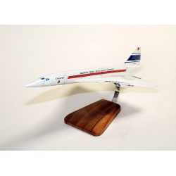 (Prochaine arrivée fin janvier 2019) Maquette avion Concorde 001 en bois