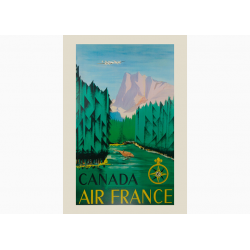 Affiche Air France / Canada