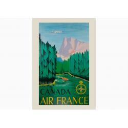 Affiche Air France / Canada