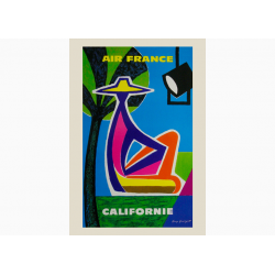 Affiche Air France / Californie