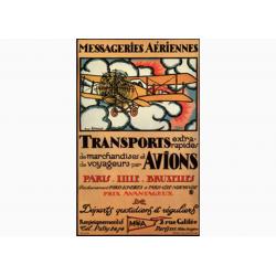 Messageries Aeriennes- Paris-Bruxelles