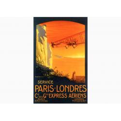 """Affiche Air France / Paris - Londres (""""collector"""")"""