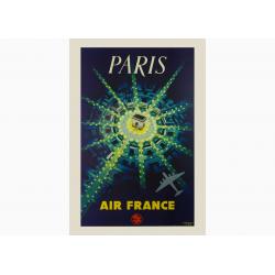 Affiche Air France / Paris Air France