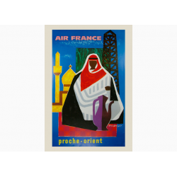Affiche Air France / Proche Orient