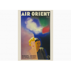 Affiche Air France / Air Orient