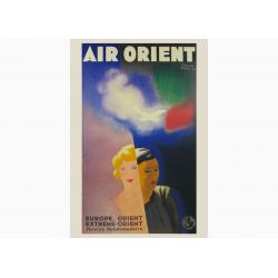 Affiche Air France / Air Orient