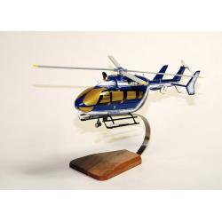 Maquette bois hélicoptère EC 145 Gendarmerie Dragon 25