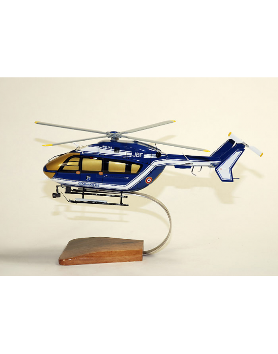 maquette ec 145 en bois gendarmerie dragon 25 merespace. Black Bedroom Furniture Sets. Home Design Ideas