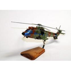 Maquette bois hélicoptère Super Puma AS.532 COUGAR