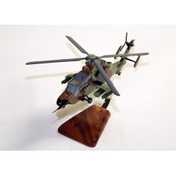 Maquette bois hélicoptère EC-665 Tigre French Army