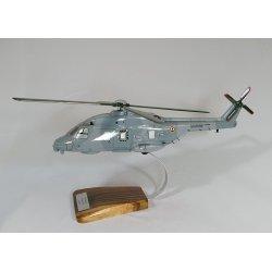 Maquette hélicoptère NH90 NFH Caiman en bois