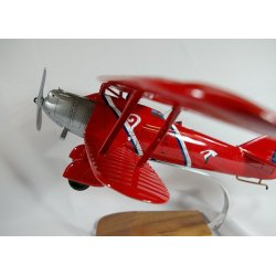 Maquette avion Breguet XIX point d'interrogation en bois