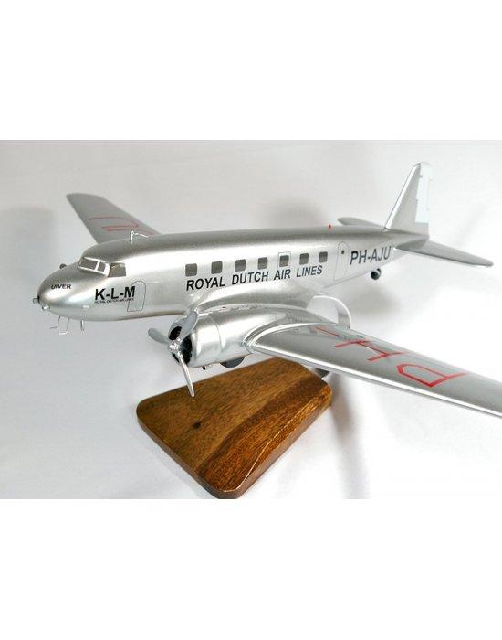 Maquette Avion Douglas DC-2 KLM en bois
