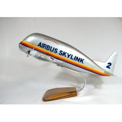 Maquette avion Super Guppy en bois