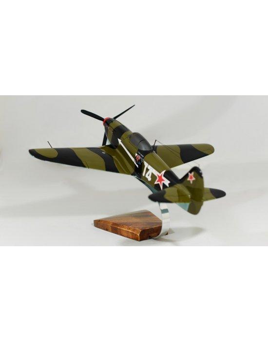 Maquette avion Yak 9 le Père Magloire Yakovlev du CG3 en bois