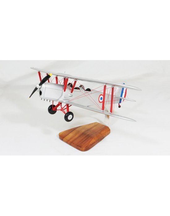 Maquette avion du Stampe SV4 - F.A.F - en bois