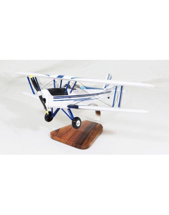 Maquette avion Stampe SV4 en bois