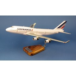 Maquette avion Boeing 747-400 Air France F-GITD Last Flight