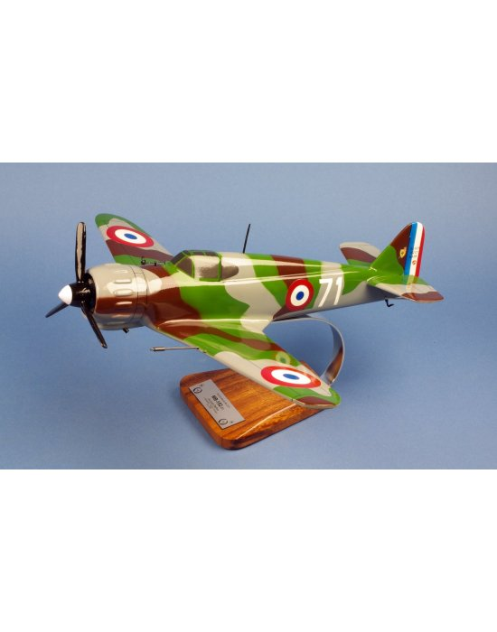 Maquette avion Bloch MB152 en bois